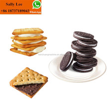 Automatic biscuit making machine for biscuit sandwich