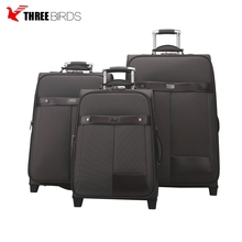Cheap custom made brand 4 spinner wheels luggage secret compartment