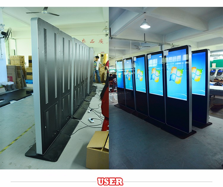 55 inch floor stand digital signage,totem,lcd advertising screens