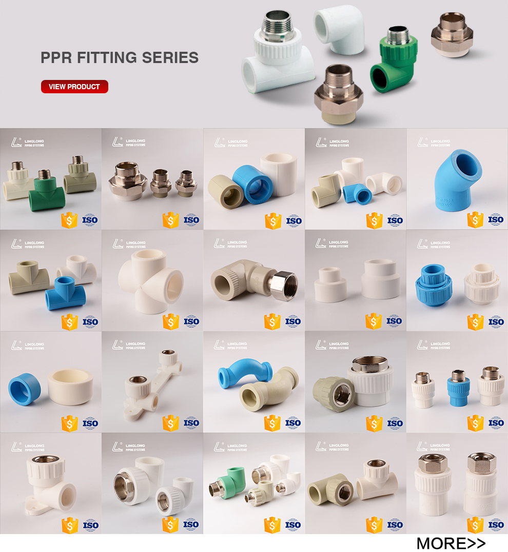 Durable clear ppr pipe fitting elbow for tube
