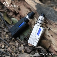 Tesla Colt Mini 80w, Very delicate and exquisite vaporizer mods with Stylish appearance design Tesla