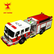 wholesale diecast mini fire truck models for CHINA