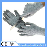 hand protective glass cutting gloves