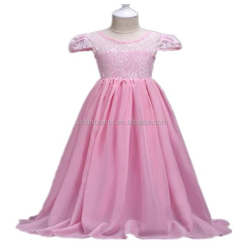 Gasa de la muchacha del verano vestido púrpura vestido de novia para ...