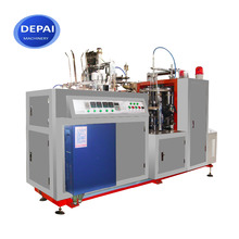 D16 Medium Speed Recycle Paper Double Cup Ultrasonic Cup Forming Making Machine