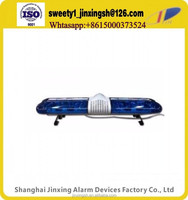 "40""all blue police lightbar ,warning light,12v 24v 48v ambulance emergency light bar CD100"