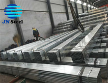 30*50 30*60 37*57 38*75 hollow section ASTM A500 galvanized gi square steel pipe