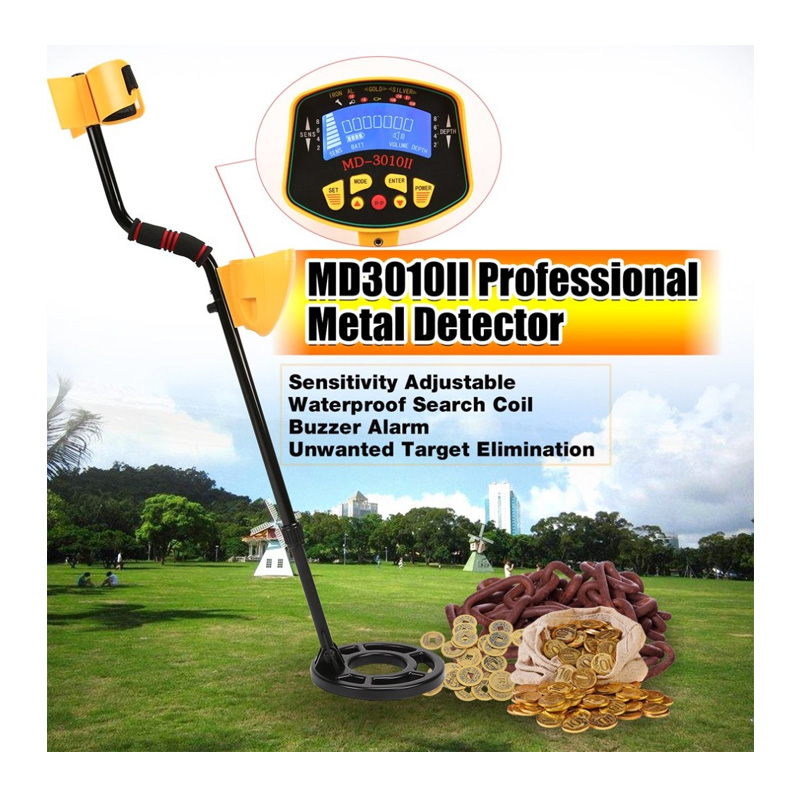 MD3010II Professional Portable metal detector manufacturer