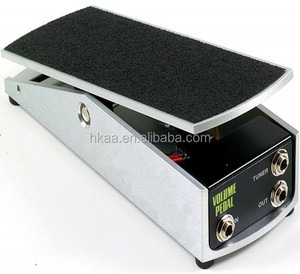 MAZAK 6 AXIS cnc machining custom precision guitar volume effect pedal specially by your drawing