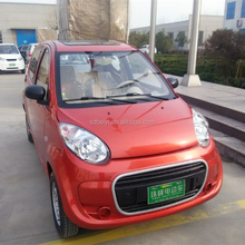 Solar adult 4 seater electric cars for sale without driving licence automobile