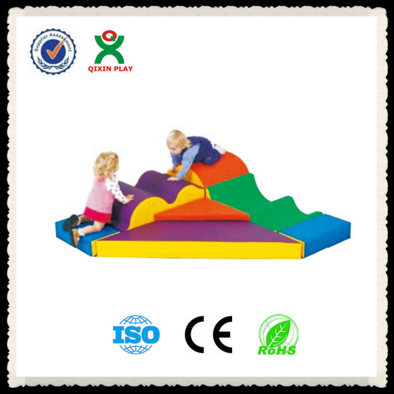 Baby indoor soft play equipment/toddler soft playground/kids soft play equipment QX-174D