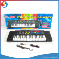 DD0551600 37 key multi-function electronic musical electronic piano with microphone toy for kids