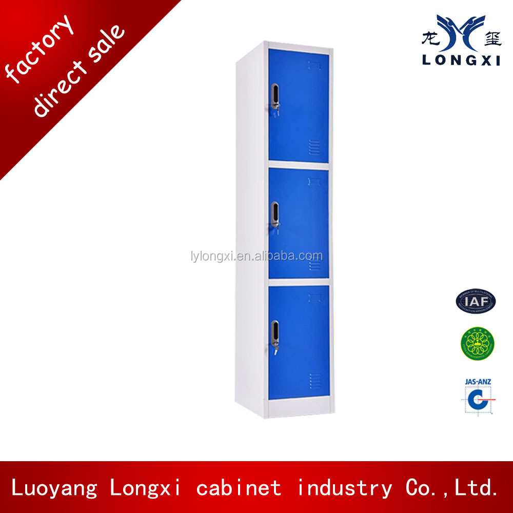 Hot selling storage locker, iron locker clothes cabinet,metal cabinet shelf support