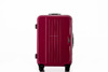 Fashion design trolley suitcase luggage traveller case abs+pc pull rod trunk rolling boarding luggage