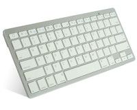 78 keys with scissor feet keycap battery operated slim wireless bluetooth keyboard for computer