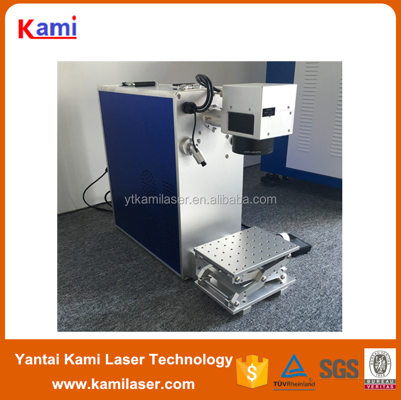 Factory gold silver jewelry rings laser marking engraving printing writing machine with CE certificate 2 years warranty