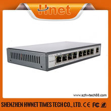 Full-Duplex & Half-Duplex Communication 8 port poe injector 12v input