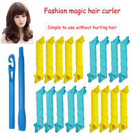 New style cheap colourful small woman spiral hair curlers