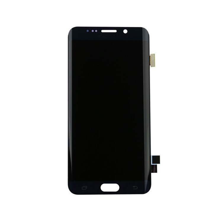 Shenzhen factory  Express LCD Touch Screen for Galaxy S6 Edge for Samsungs Mobile Phone golden