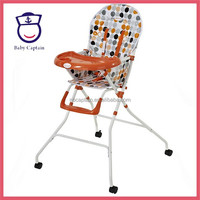 children metal table and chairs for baby with removable double tray