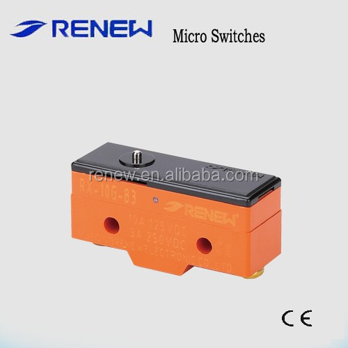X type micro switch 12v RX-10G-B3/micro on off switch/Magnetic micro switch