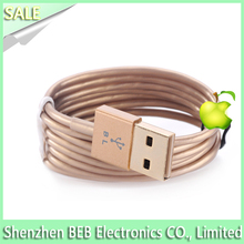 high quality Wholesale led charging cable for iphone 5 promotion led charging cable