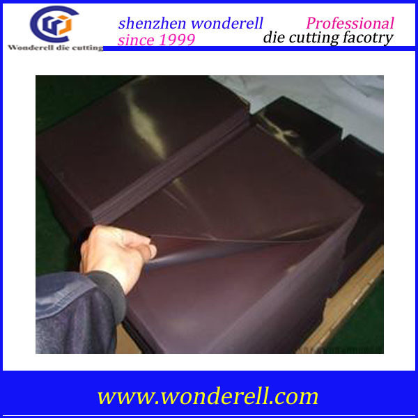 5mm 15mm black Dust-proof Anti-static Temperature resistant neoprene rubber sheet CR for Electrical appliance computer
