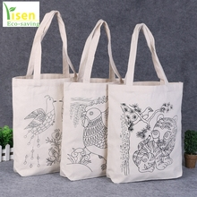 Shopping bag hot selling ladies fancy pouches popular handbag