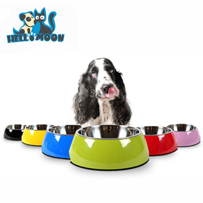 Bulk Custom Stainless Steel Collapsible Wrought Iron Foldable Automatic Weighted Slow Purple Dog Bowls