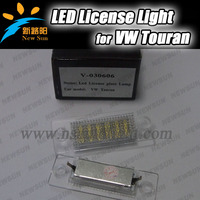Factory Design led license plate lamp lights for touran,led number plate lamp for Skoda Superb I 02~08