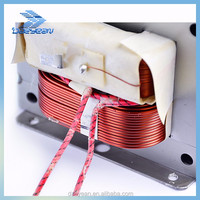 Microwave Parts Electrical high voltage transformer for microwave oven