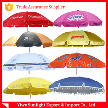 Manufacturer bamboo wind resist beach umbrella