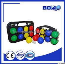 Cheap price High quality Plastic 8 piece packing Bocce Ball set