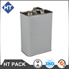 5 liter tin can with metal screw lid, chemical can