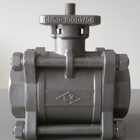 Chemical Resistant DN50 PN16 Stainless Steel Ball Valve Machine