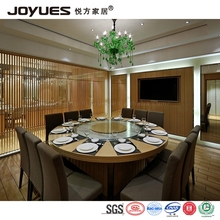 Singapore 12 seater stone/marble dining table with glass rotating plate
