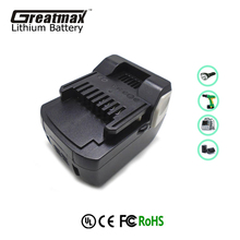 Cordless drill batteries 14.4V lithium-ion replacement battery for Hitachi BSL1430