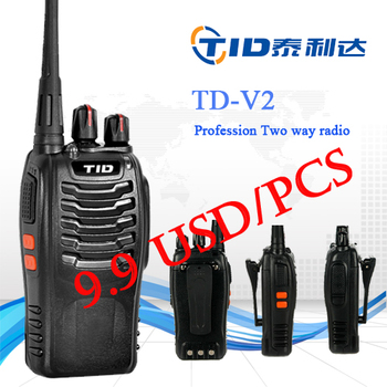 TD-V2 5W Walkie Talkie Portable Radio