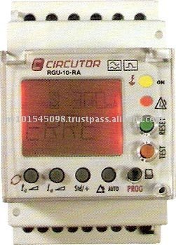Automatic Self Reclosing Earth Leakage Relay with Display