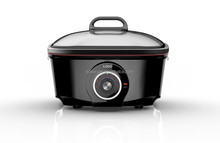 Multi-function 8 in 1 electric slow cooker