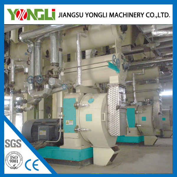 YONGLI crab shrimp feed making plant 4-5 tons per hour hot selling in Indonesia,Panama