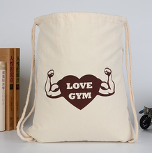 Multifunctional personalised library canvas bag for wholesales