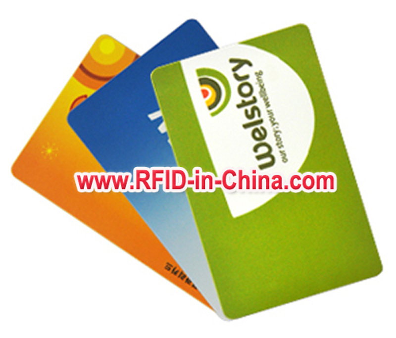 Visable HF RFID Enabled Credit Cards RFID NFC Cards with Electical Records