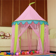 Portable Outdoor Folding Princess Waterproof Toy Play Game Children Kids Castle Tent