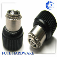 Self clinching plastic panel fasteners
