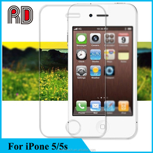 Ultrathin 2.6mm Thickness Tempered Glass Screen Protective Film Fit For iPhone 5/5s