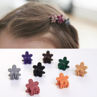 Fashion Hair Claws Children Headwear Cute Flowers Candy Colors Plastic Hair Clips Claws for Girls Kids Hair Accessories