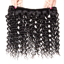 Competitive price mink brazilian hair deep wave 100grams/piece brazilian human hair sew in weave
