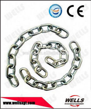 Grade30 Ordinary Mild Galvanized anchor chain connecting link