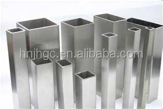 TP304L seamless stainless steel square tube/ pipe